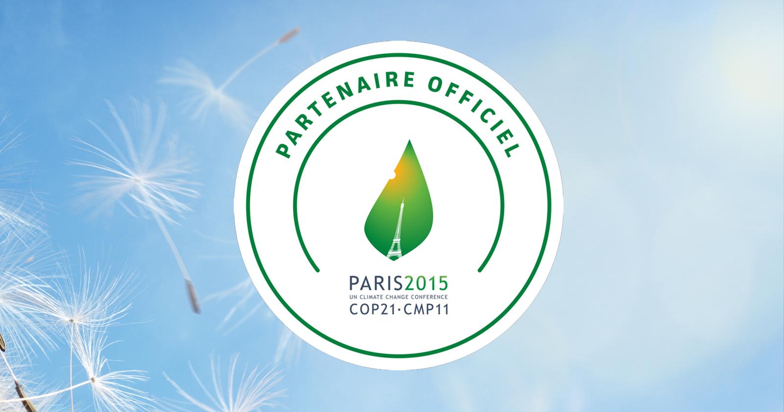 Partenaire officiel de la COP21