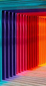Tunnel de couleurs