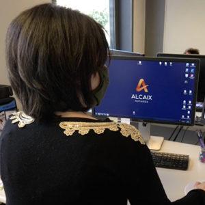 Photo employé chez Alcaix, office notarié