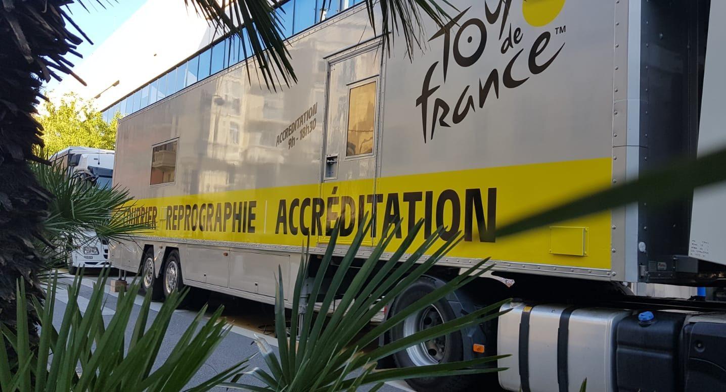 Repromobile Docaposte sur le Tour de France