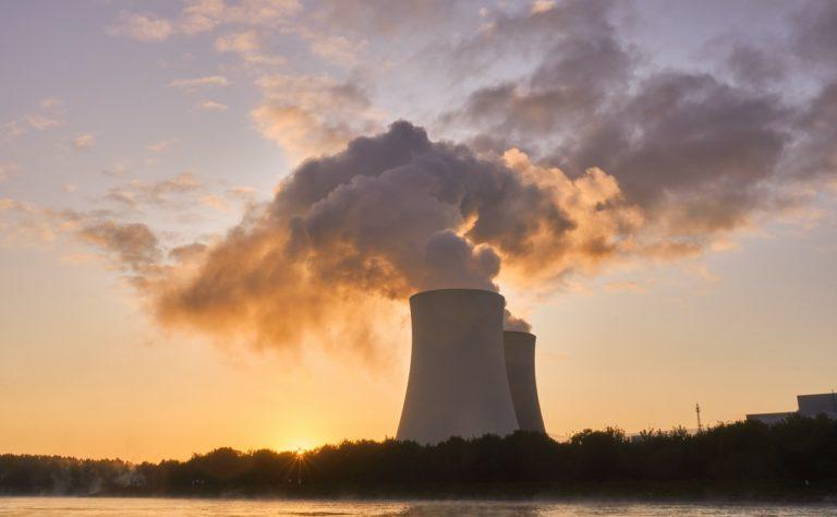 centrale nucléaire, pollution de l'air